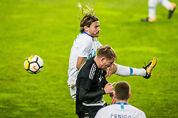 Jasmin Kurtic of Slovenia during friendly football match between National teams of Slovenia and Belarus, on March 27, 2018 in SRC Stozice, Ljubljana, Slovenia. Photo by Vid Ponikvar / Sportida