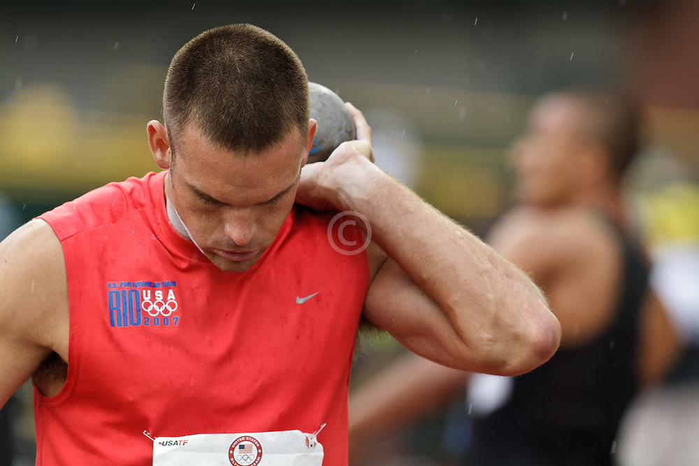 Olympic Trials Eugene 2012: Decathlon, shot put, Ryan Harlan