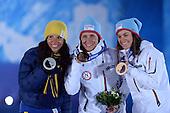 Cross Country Skiathlon 7.5km + 7.5km, Womens - Medal Ceremony