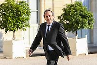 Michel PLATINI - 10.06.2015 - Rencontre autours de l'Euro 2016 - L'Elysee <br /> Photo : Icon Sport/ Sebastien Muylaert