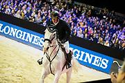 Gerco Schroder - Glock´s Cognac Champblanc<br /> Jumping Indoor Maastricht 2018<br /> © DigiShots