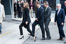 Madrid: Queen Letizia Arrives To A Meeting 25 Feb 2017