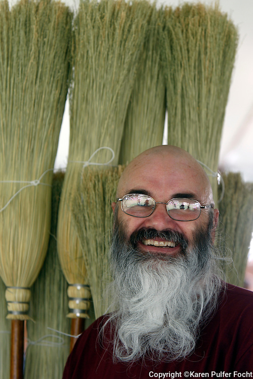 Jack Martin is a fourth generation broom maker and farmer from Selmer, Tennessee.