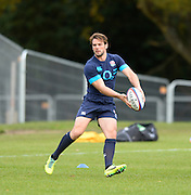 Bagshot, United Kingdom, Ben FODEN go's through the exercises during the  England  Training for the  2013 QBE Autumn<br /> Rugby International, England vs Argentina, at the England training facility Pennyhill Park, Surrey<br /> Thursday  07/11/2013 RFU Stadium Twickenham,<br /> England. [Mandatory Credit: Peter Spurrier/Intersport<br /> Images]