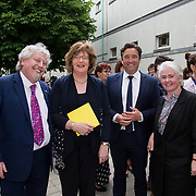 "11.06.2017         <br /> International award winning artists are among the almost 200 graduates of Limerick School of Art and Design who's work went on exhibition at the LSAD Graduate Show 2017.<br /> <br /> Pictured at the awards ceremony were, Mike Fitzpatrick, Head LSAD, Senator Maria Byrne, John Concannon, Director Creative Ireland and Sheila Deegan, Arts and Culture Officer Limerick City and County Council.<br /> <br />  <br /> Students from the college took control of the over-riding message of this historical show as they conceptualised, designed and delivered on the theme - be.cause.<br />  <br /> The hypothesis conceived by Graphic Design graduates Cassandra Walsh and David Reilly, is derived from the fact the graduates have now reached a stage where they are confident with their work, their interpretations and creative solutions. As creative minds they have an innate need to ""do"" something. There is just this need to create, be.cause.<br /> . Picture: Alan Place."