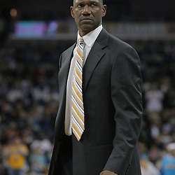 03 December 2008:  Phoenix Suns coach Terry Porter watches his team during the first half of a NBA regular season game between the Phoenix Suns and the New Orleans Hornets at the New Orleans Arena in New Orleans, LA..