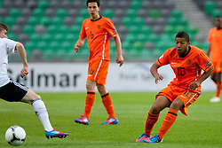 Tonny Trindade de Vilhena of Netherlands during the UEFA European Under-17 Championship Final match between Germany and Netherlands on May 16, 2012 in SRC Stozice, Ljubljana, Slovenia. (Photo by Urban Urbanc / Sportida.com)