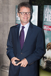 Grosvenor House Hotel, London, September 7th 2016. Celebrities attend the RSPCA's annual awards ceremony recognising the country's bravest animals and the individuals committed to improving their lives. PICTURED: Nicky Campbell from Long Lost Family