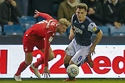 Millwall midfielder Ben Thompson (8) during the EFL Sky Bet Championship match between Millwall and Nottingham Forest at The Den, London, England on 6 December 2019.