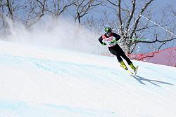 BUGAEV Aleksei LW6/8-2 NPA competing in the Para Alpine Skiing Downhill at the PyeongChang2018 Winter Paralympic Games, South Korea