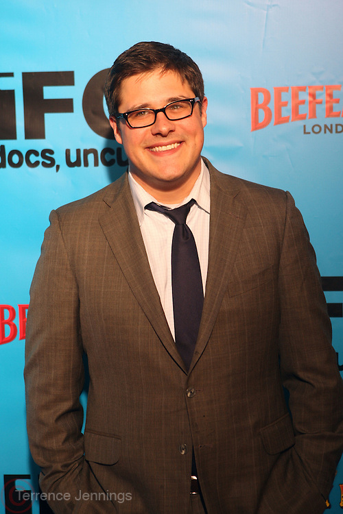 Gideon Yago at The Special IFC and BAFTA hosted event with The Monty Python troupe celebrating the 40th Anniversary and premiere of the IFC documentary ' Monty Python: Almost The Truth (The Lawyer's Cut)' held at The Ziegfield Theater on October 15, 2009