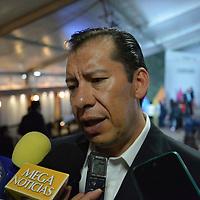 Toluca, México.- (Julio 30, 2018).- Odilón López, presidente de CANAPAT durante la ceremonia en el marco del Día Mundial contra la Trata de Personas, y se indico que en el Edomex se han rescatado 240 víctimas de trata de personas. Agencia MVT / Crisanta Espinosa.