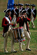 Image of the Yorktown Victory Reenactment in Yorktown, Virginia, east coast