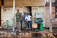 Ice cream stand in Baracoa, Guantanamo, Cuba.