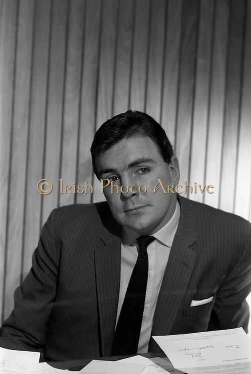 29/12/1966<br /> 12/29/1966<br /> 29 December 1966<br /> Mr. A.J. (Tony) O'Reilly, Managing Director of Irish Sugar Co. at his office in Irish Sugar Co. headquarters at Earlsfort Terrace, Dublin.