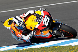 01.05.2010, Motomondiale, Jerez de la Frontera, ESP, MotoGP, Race, im Bild Dani Pedrosa - Repsol Honda team. EXPA Pictures © 2010, PhotoCredit: EXPA/ InsideFoto / SPORTIDA PHOTO AGENCY
