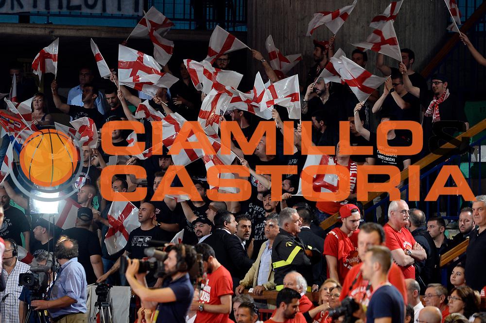 DESCRIZIONE : Reggio Emilia Lega A 2015-2016 Playoff Finale Gara 3 Grissin Bon Reggio Emilia EA7 Emporio Armani Milano<br /> GIOCATORE : tifosi<br /> CATEGORIA : tifosi<br /> SQUADRA : EA7 Emporio Armani Milano<br /> EVENTO : Campionato Lega A 2015-2016<br /> GARA : Grissin Bon Reggio Emilia EA7 Emporio Armani Milano<br /> DATA : 07/06/2016<br /> SPORT : Pallacanestro<br /> AUTORE : Agenzia Ciamillo-Castoria/Max.Ceretti<br /> GALLERIA : Lega Basket A 2015-2016<br /> FOTONOTIZIA : Reggio Emilia Lega A 2015-2016 Playoff Finale Gara 3 Grissin Bon Reggio Emilia EA7 Emporio Armani Milano<br /> PREDEFINITA :