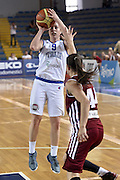DESCRIZIONE : Ragusa Qualificazione Europei Donne 2015 Italia Lettonia Italy Latvia<br /> GIOCATORE : Francesca Dotto<br /> CATEGORIA : Tiro Three Points<br /> EVENTO : Qualificazioni Europei Donne 2015<br /> GARA : Italia Lettonia Italy Latvia<br /> DATA : 25/06/2014 <br /> SPORT : Pallacanestro<br /> AUTORE : Agenzia Ciamillo-Castoria/GiulioCiamillo<br /> Galleria : FIP Nazionali 2014<br /> Fotonotizia : Ragusa Qualificazioni Europei Donne 2015 Italia Lettonia Italy Latvia<br /> Predefinita: