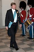 Staatsbezoek Denemarken - Dag 1. Staatsbanket in Paleis Christiansborg<br /> <br /> State visit Denmark - Day 1. State Banquet in Christiansborg Palace<br /> <br /> Op de foto / On the photo: