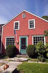 Burlingham House, site of the NPS visitor center, Weir Farm National Historic Site, former home of painter J. Alden Weir, Branchville, Connecticut.