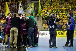 Team HBC Nantes during handball match between RK Celje Pivovarna Lasko (SLO) and HBC Nantes (FRA) in Group phase of VELUX EHF Men's Champions League 2018/19, December 2, 2018 in Arena Zlatorog, Celje, Slovenia. Photo by Urban Urbanc / Sportida