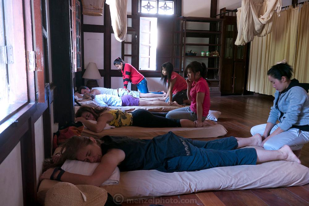 Massage, Luang Prabang, Laos.
