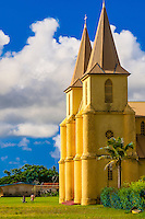 St. Pierre Baptist Church, Hnathalo, Lifou (island), Loyalty Islands, New Caledonia
