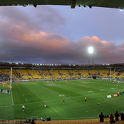 General view of the final at the 2017 HSBC World Sevens Series Wellington, Westpac Stadium in Wellington, New Zealand on Sunday, 29 January 2017. Photo: Kerry Marshall / lintottphoto.co.nz