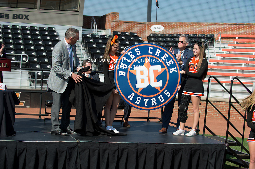 Buies Creek Astro Announcement  Photo By Bennett Scarborough