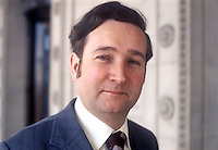 Peter McLachlan, Unionist Party of N Ireland,  candidate, East Belfast, 1975 N Ireland Convention Election on 1st May 1975. 197504000216<br /> <br /> Copyright Image from Victor Patterson, 54 Dorchester Park, Belfast, United Kingdom, UK.  Tel: +44 28 90661296; Mobile: +44 7802 353836; Voicemail: +44 20 88167153;  Email1: victorpatterson@me.com; Email2: victor@victorpatterson.com<br /> <br /> For my Terms and Conditions of Use go to http://www.victorpatterson.com/Terms_%26_Conditions.html