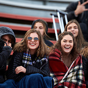 Moon, PA - November 11:  During the quarter final round of the Pennsylvania Interscholastic Athletic Association Class 2-A Boys Soccer Championships between Quaker Valley and Beaver High School at Moon Area High School Football Field on November 11, 2017 in Moon, PA.  The Quakers went on to win 2-1. (Photo by Shelley Lipton)