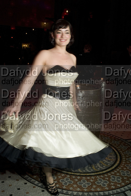 LAURA MICHELLE KELLY, European Film premiere of Sweeny Todd,  Odeon Leicester Sq. and party afterwards at the Royal Courts of Justice. 10 January 2008. -DO NOT ARCHIVE-© Copyright Photograph by Dafydd Jones. 248 Clapham Rd. London SW9 0PZ. Tel 0207 820 0771. www.dafjones.com.