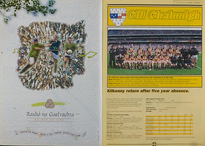 All Ireland Senior Hurling Championship - Final, .13.09.1998, 09.13.1998, 13th September 1998, .13091998AISHCF,.Senior Kilkenny v Offaly, .Minor Kilkenny v Cork,.Offaly 2-16, Kilkenny 1-13,.Kilkenny senior team, back row from left, Ken O'Shea, John Costello, Liam Simpson, Andy Comerford, Brian McEvoy, Shane Prendergast, Canice Brennan, Peter Barry, Pat O'Neill, Phillip Larkin, Niall Moloney, Patsy Brophy, John Dooley (at back), Sean Ryan, Front Row, Rory Moore, Liam Keoghan, Michael Kavanagh, DJ Carey, Tom Hickey, Joe Dermody, Charlie Carter, PJDelaney, Willie O'Connor, Denis Byrne, James McGarry, John Hoyne,