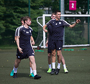 Dundee&rsquo;s Craig Wighton and Cammy Kerr during pre-season testing at University Grounds, Riverside, Dundee, Photo: David Young<br /> <br />  - &copy; David Young - www.davidyoungphoto.co.uk - email: davidyoungphoto@gmail.com
