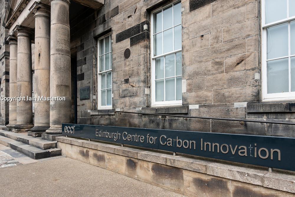 Exterior of ECCI building Edinburgh Centre for Carbon Innovation part of Edinburgh University Earth Science department, Scotland, UK