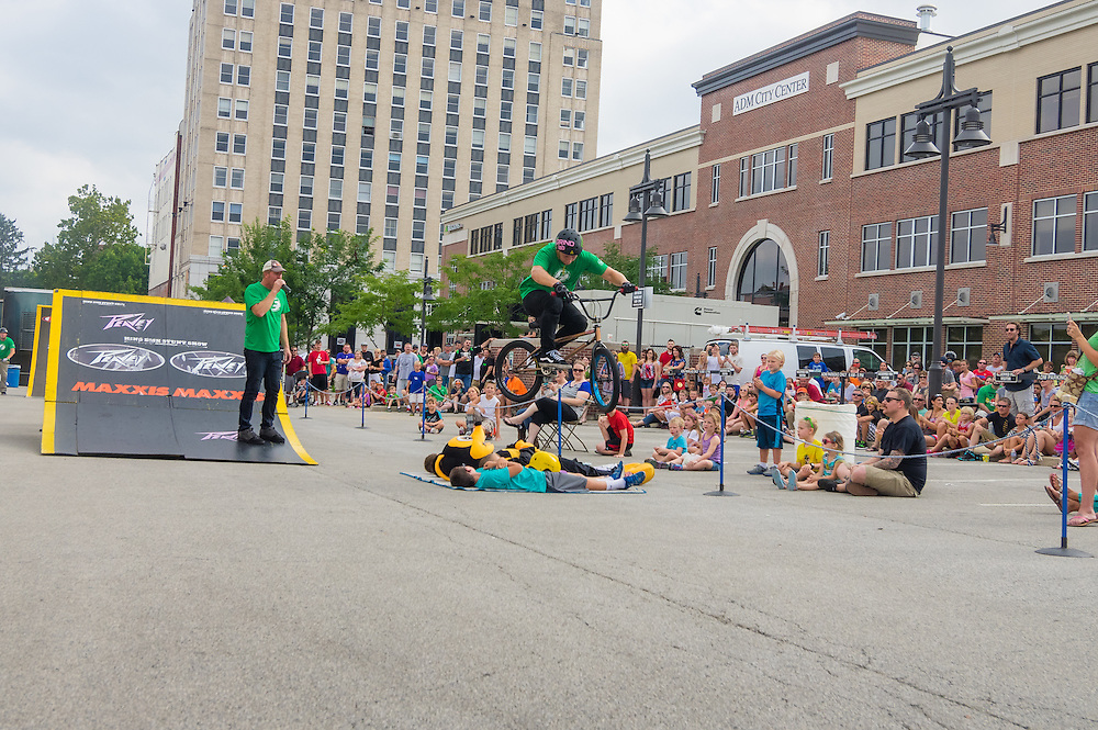 King BMX performs at the 2015 Decatur Celebration