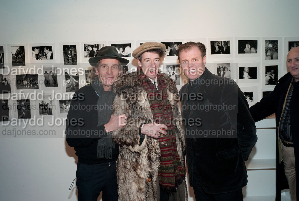 ROBERT PERENO; GAZ MAYALL; RUSTY EGAN, The Way We Wore.- Photographs of parties in the 70's by Nick Ashley. Sladmore Contemporary. Bruton Place. London. 13 January 2010.