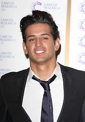 OLLIE LOCKE attends the James' Jog-on to Cancer charity fundraiser, Kensington Roof Gardens, April 3, 2013 in London, England. Photo by: i-Images..