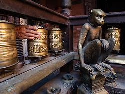 Monkey Temple. Patan, Nepal.