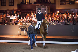 Jose Antonio Garcia Mena (ESP) <br /> Global Dressage Forum<br /> Academy Bartels - Hooge Mierden 2013<br /> © Dirk Caremans