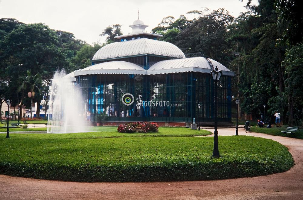 Palacio de Cristal na cidade de Petropolis, RJ, Brasil / Cristal Palace in the city of Petropolis, Rio de Janeiro, Brazil
