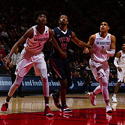17 January 2018: San Diego State dropped a tough game to Fresno State 77-73 at Viejas Arena. <br /> More game action at www.sdsuaztecphotos.com