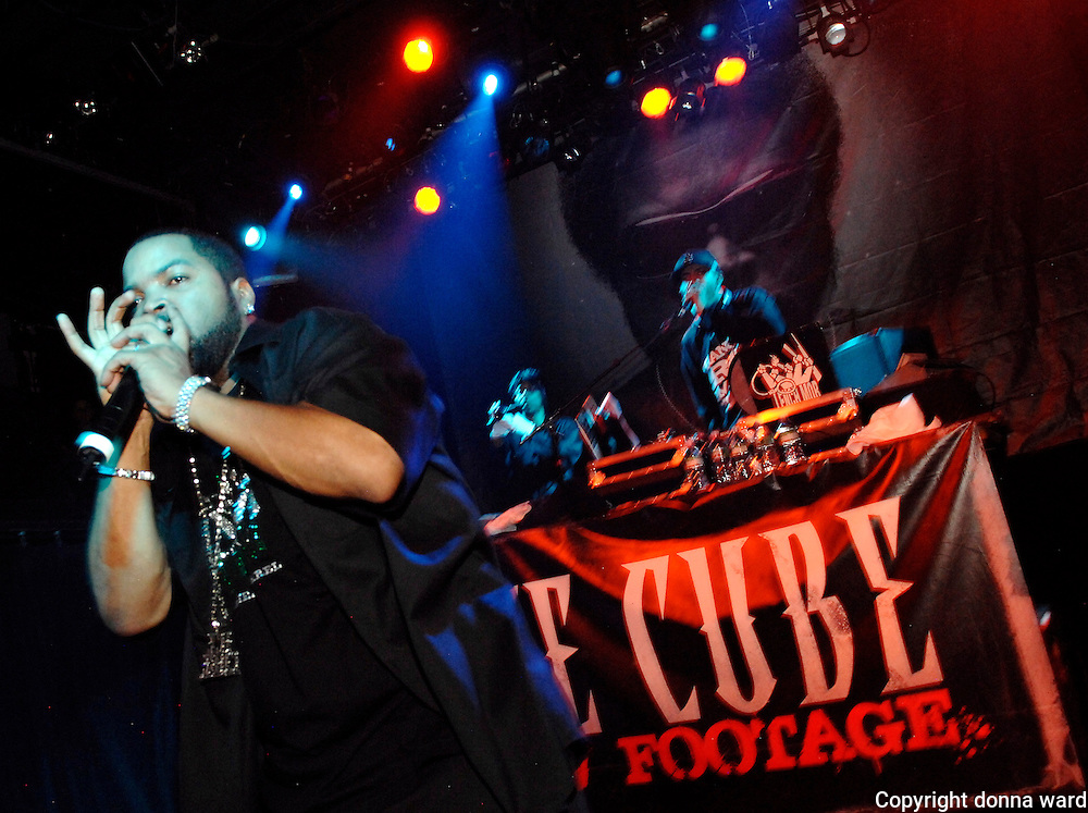 Rapper Ice Cube performs his 'Raw Footage' concert at the Fillmore East in New York City, USA on September 21, 2008.