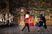 Lana's Dance Studio performs the Nutcracker at Gavalin College Theater in Gilroy, California, on December 21, 2013. (Stan Olszewski/SOSKIphoto)