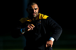 Zurabi Zhvania of Wasps during training ahead of the European Challenge Cup fixture against SU Agen - Mandatory by-line: Robbie Stephenson/JMP - 18/11/2019 - RUGBY - Broadstreet Rugby Football Club - Coventry , Warwickshire - Wasps Training Session