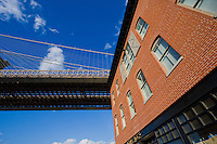 Brooklyn Bridge in Dumbo New York October 2008