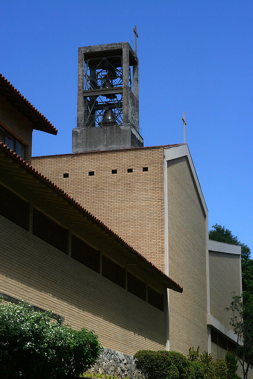 Belo Horizonte_MG, Brasil. ..Mosteiro Sao Bento, no Bairro Vila Paris...The Sao Bento  monastery in Vila Paris neighborhood...Foto: LEO DRUMOND / NITRO