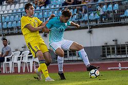 Erik Gliha of Slovenia during football match between Slovenia and Kazahstan in Qualifying round for European Under-21 Championship 2019, on September 11, 2018 in Mestni Stadium Ptuj, Slovenija, 2018. Photo Grega Valancic