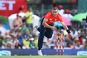 Tom Curran during the International T20 match between South Africa and England at Supersport Park, Centurion, South Africa on 16 February 2020.