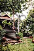 Home and cooking school of Khetana Dunnet owner of Sugar Palm restaurant, Siem Reap